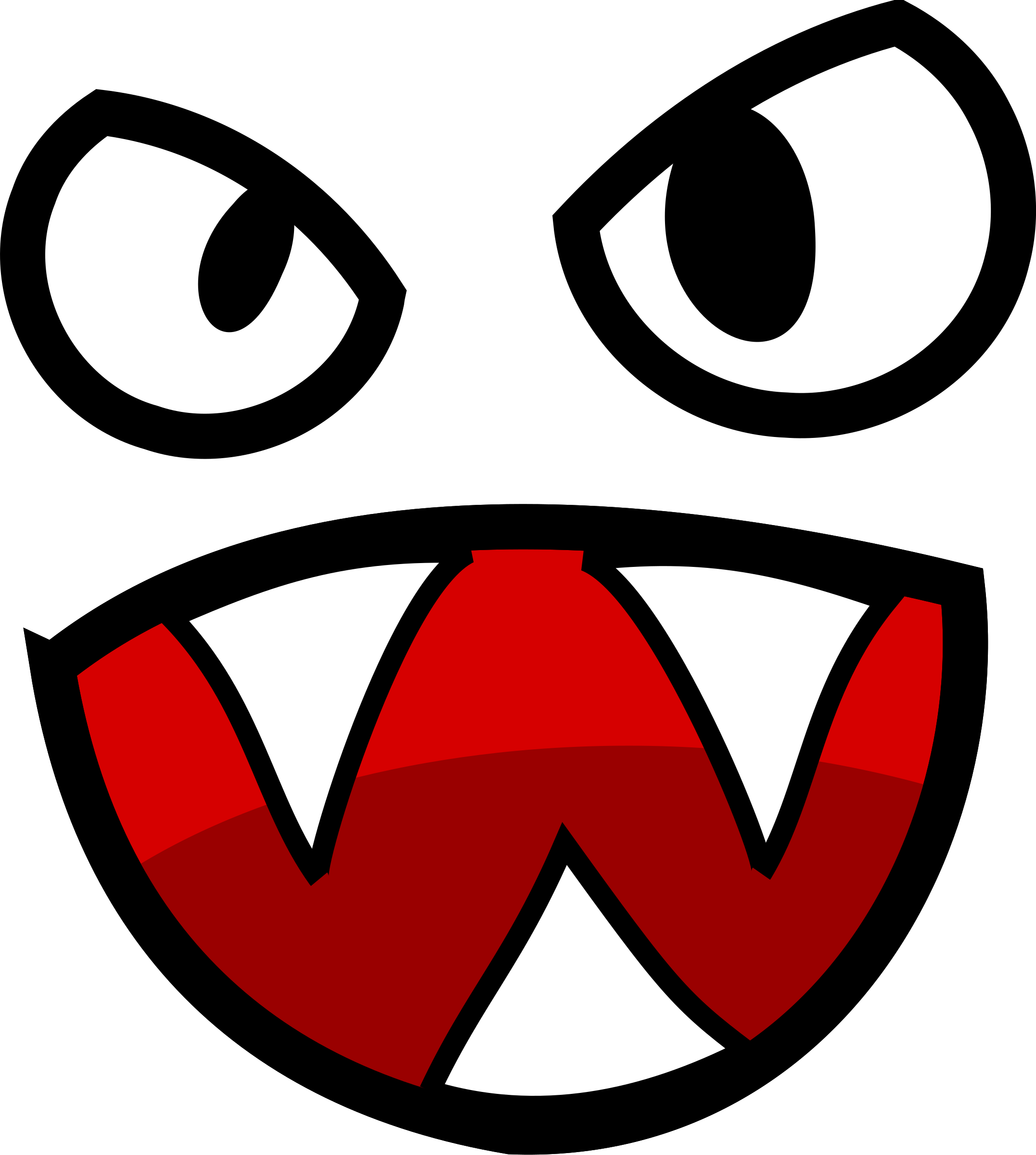 Monster clipart big mouth #5