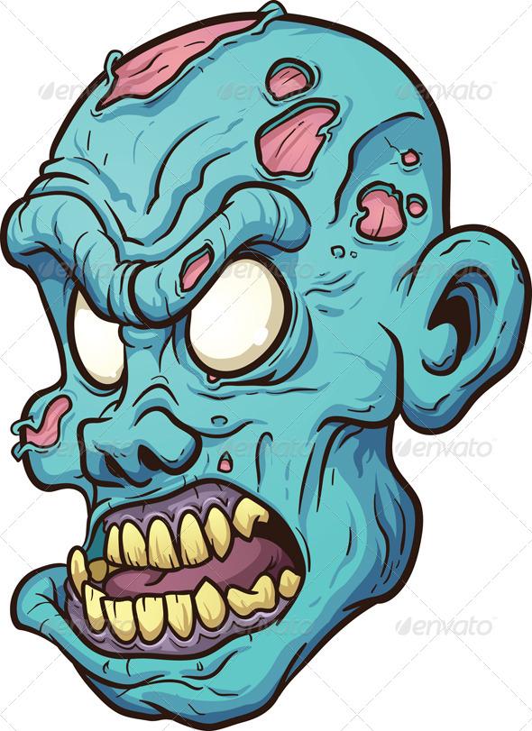 Monster clipart monster head #8