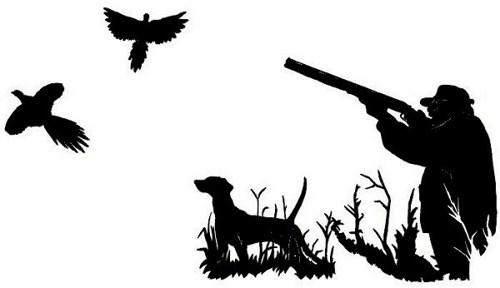 Pheasant clipart bird hunting Wall Hunter  Laptop Die