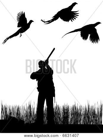 Pheasant clipart silhouette Templates Duck and this Pin