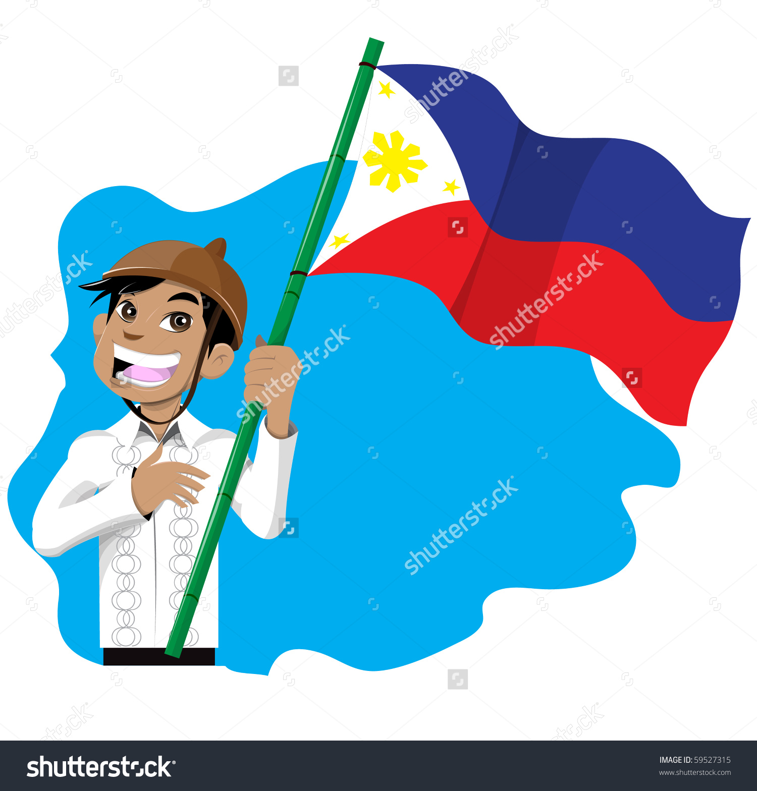 Ceremony clipart philippine flag Collection flag collection clipart holding