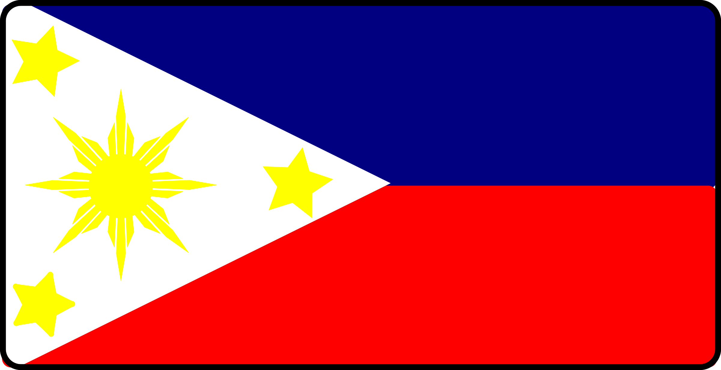 Phillipines clipart Flag Philippines Philippines Clipart Flag