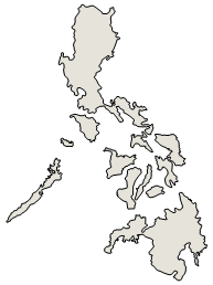 Philipines clipart black and white #8