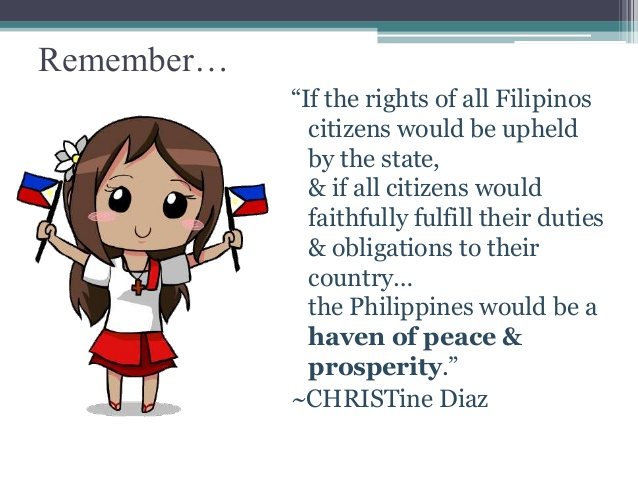 Phillipines clipart civil right #6