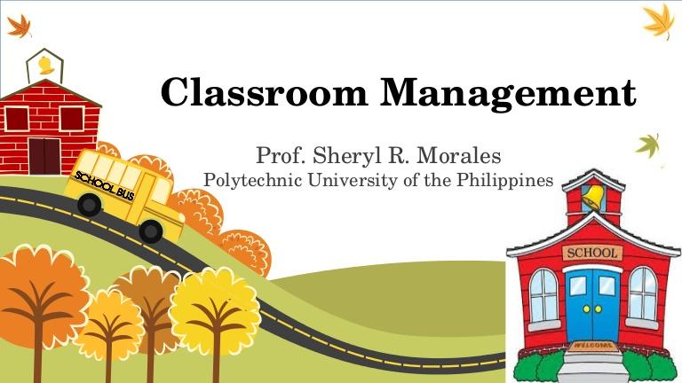 Phillipines clipart diverse classroom Management  Morales classroom