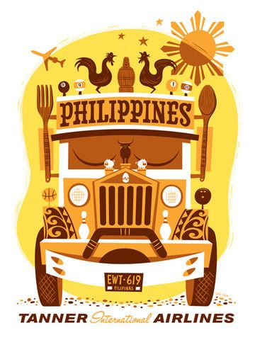Phillipines clipart filipino culture Airlines) on Vintage Travel Pinterest