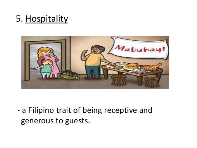 Philipines clipart filipino hospitality Filipino 8 a values 5
