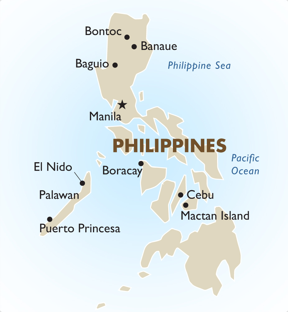 Phillipines clipart individual difference Maps Tours Goway Country Vacation
