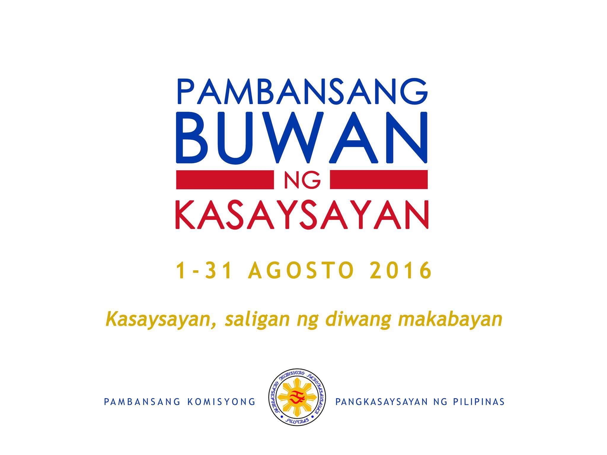 Phillipines clipart makabayan Diwang National ng Saligan Month