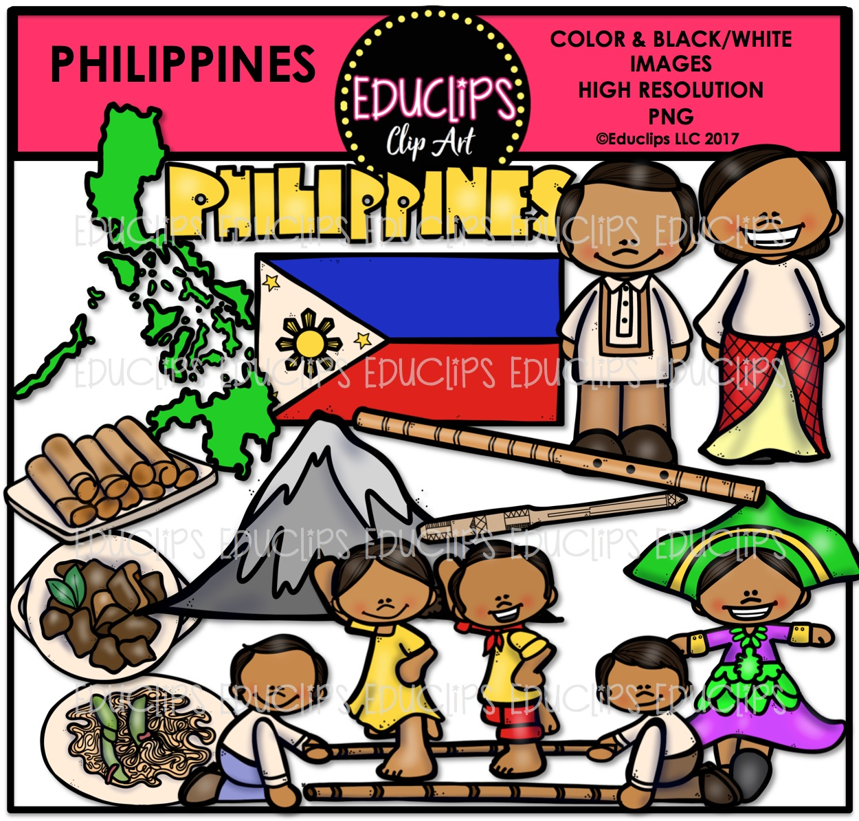 Phillipines clipart math education Philippines Store tags Welcome Product
