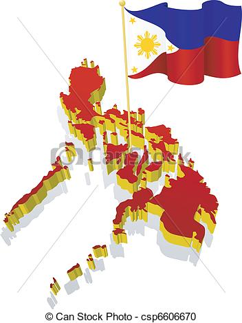 Phillipines clipart patriotism Vector of of image of