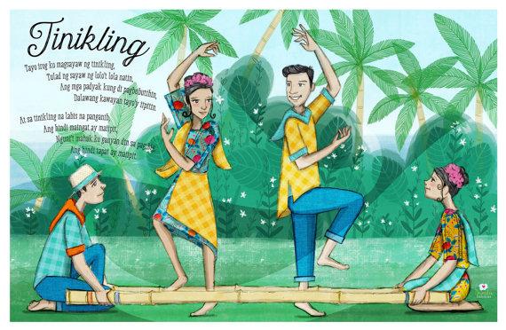 Philipines clipart philippine folk dance Dance Instant Art Children's Art