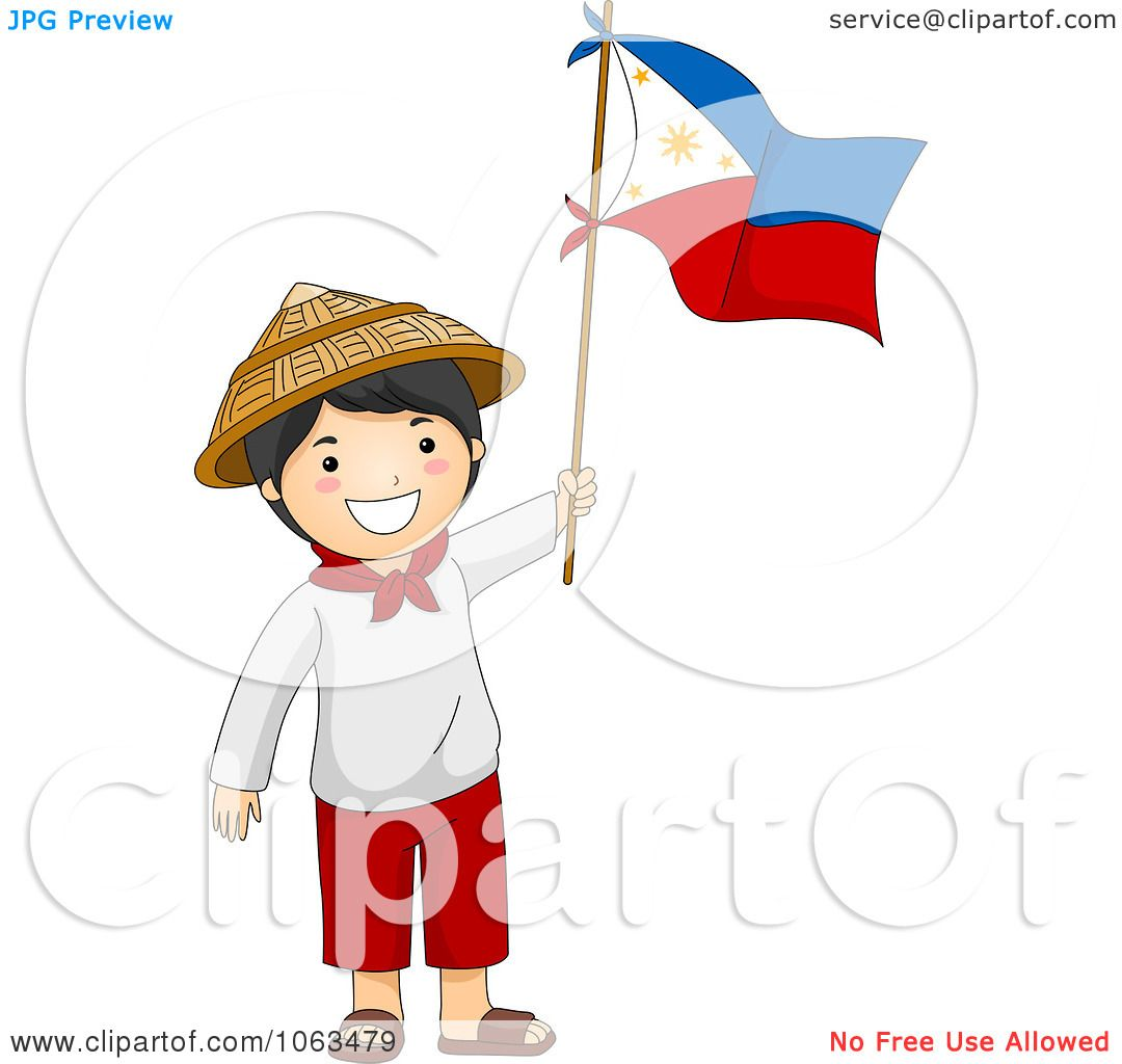 Philipines clipart pilipino Independence collection Filipino cliparts Boy