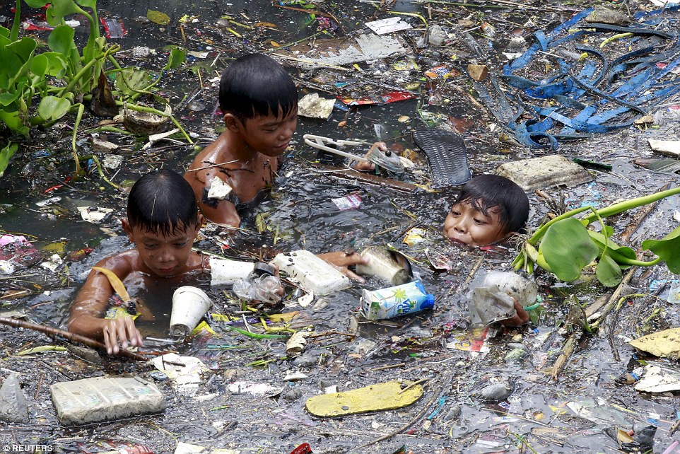 Phillipines clipart poor child In their to children the
