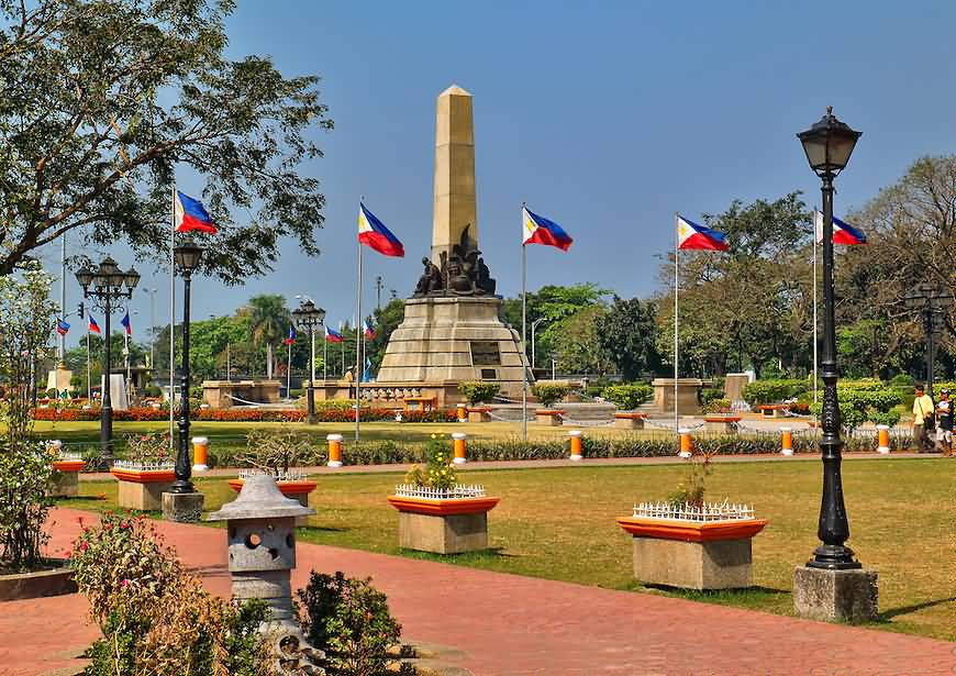 Phillipines clipart rizal monument #10
