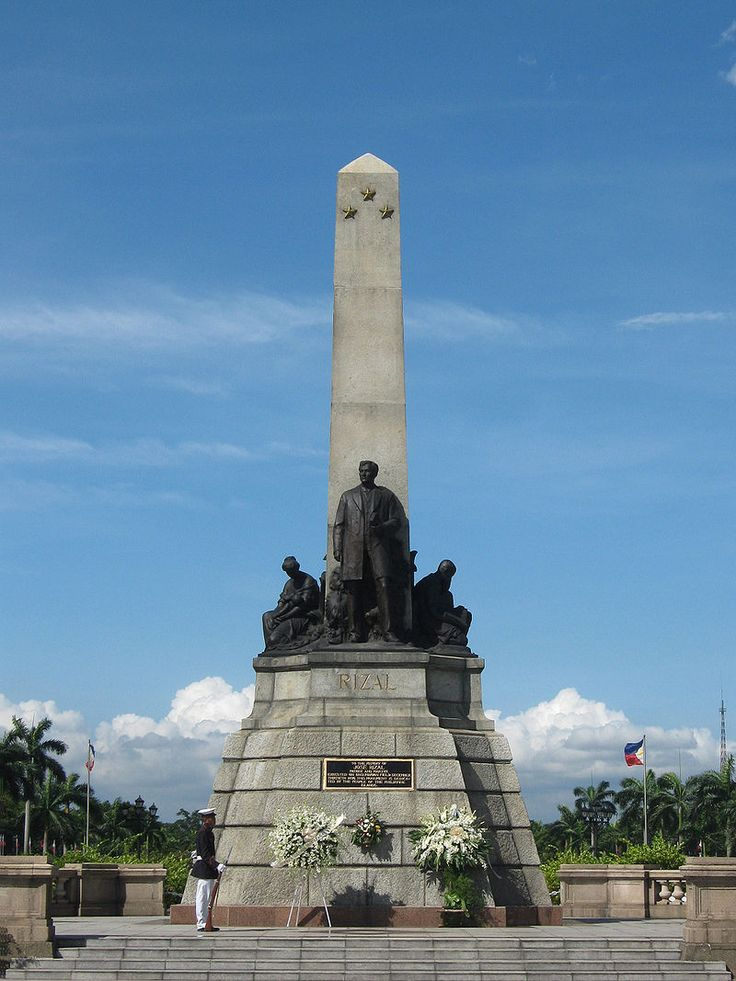 Phillipines clipart rizal monument #1