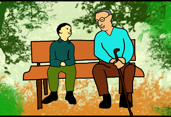 Philipines clipart senior citizen #4