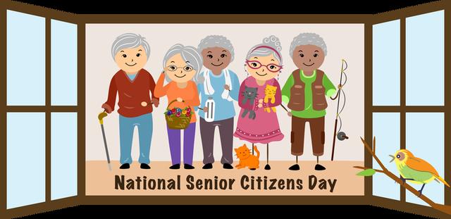 Phillipines clipart senior citizen #4
