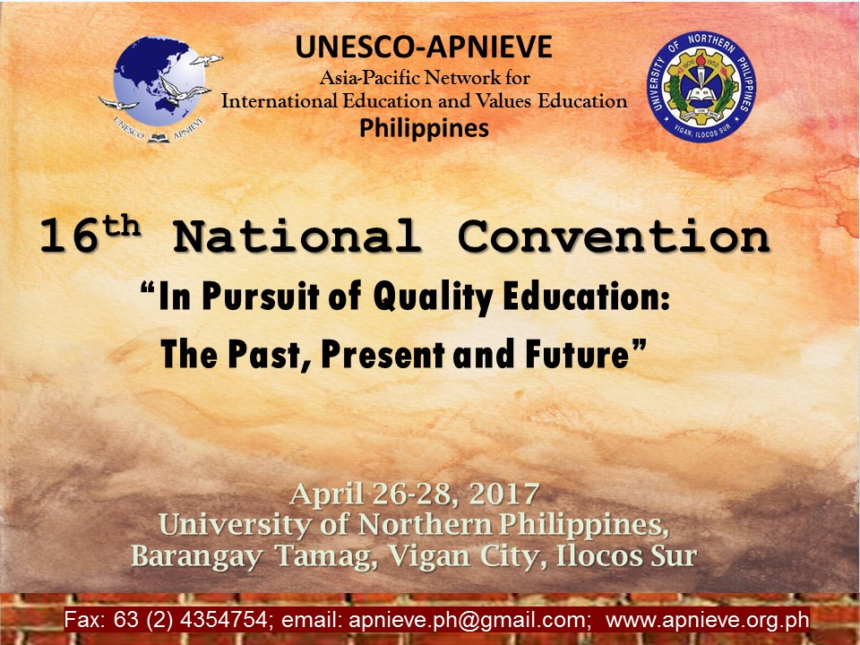 UNESCO National Philippines Apnieve Convention