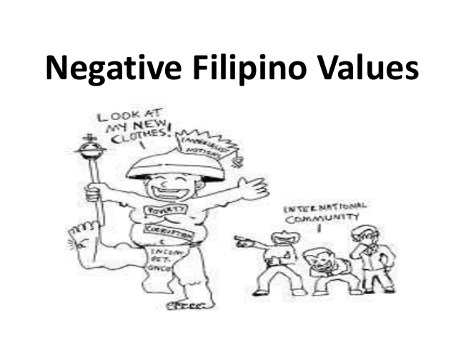 Values Negative values Filipino Filipino