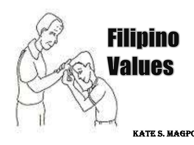 S values Filipino values Kate