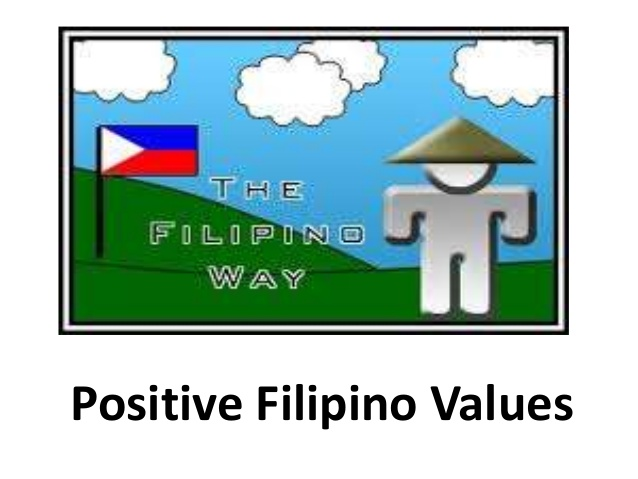 Filipino Positive Filipino values 3