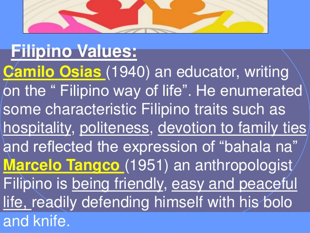 Values Values: Philippine  Filipino
