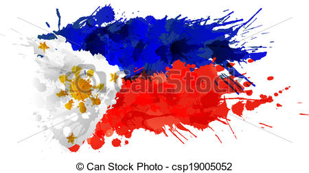 Phillipines clipart patriotism Colorful  colorful csp19005052 made
