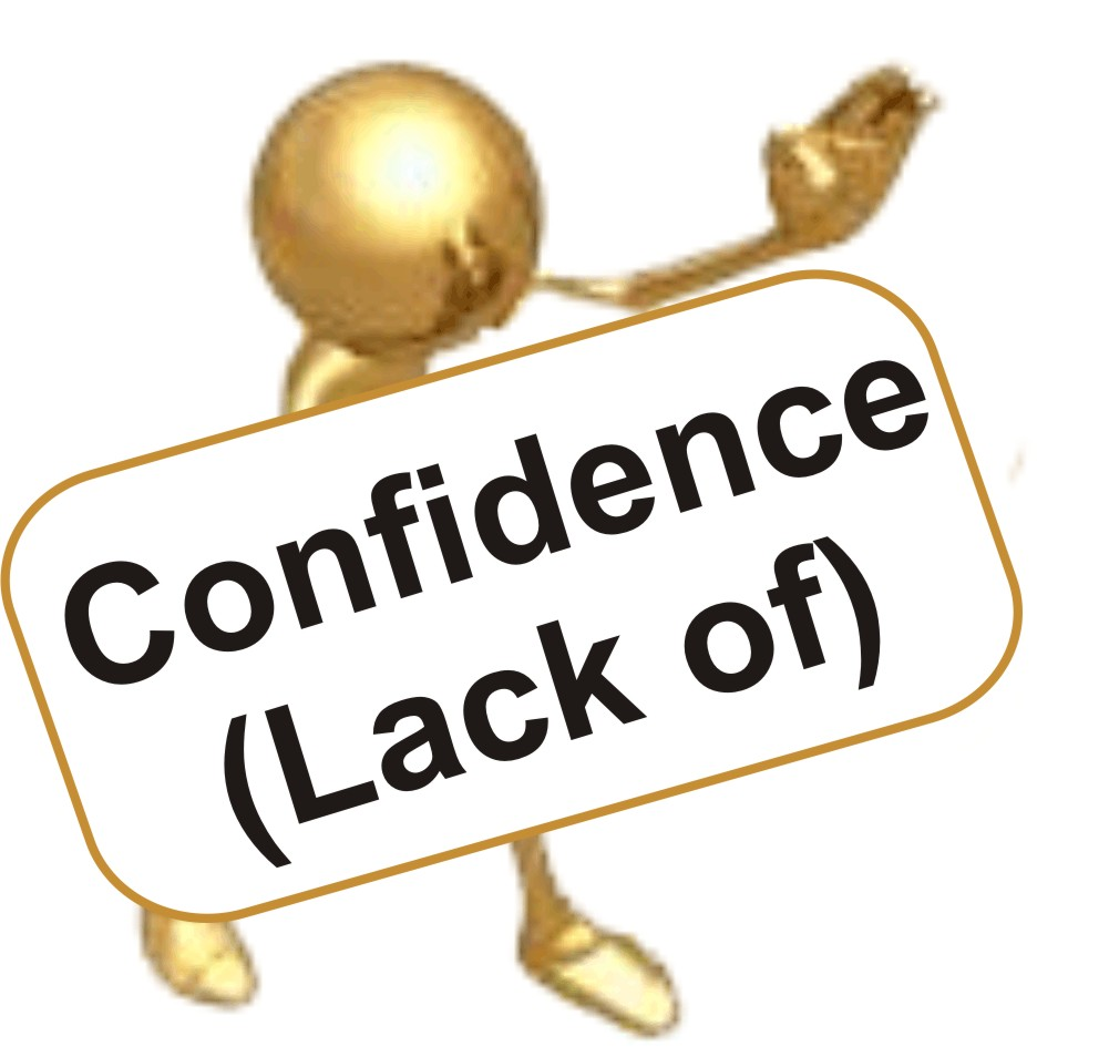 Philosopher clipart lack confidence Of Lack Trust Confidence of