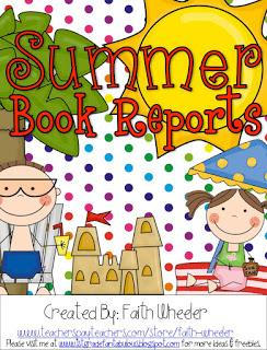 Philosophy clipart book report Summer  FREEbie Book Reports