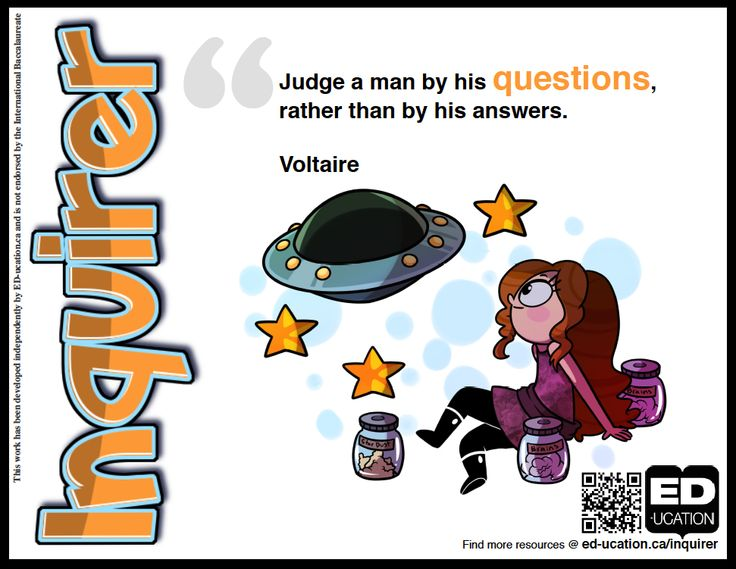 Philosophy clipart inquirer About your #LearnerProfilePosters Inquirer new