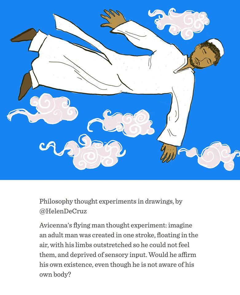 Philosophy clipart life Stuff! Flying Man: Philosophical Avicenna's