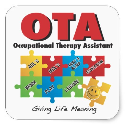 Philosophy clipart occupational therapy Sticker COTA Occupational on 10+