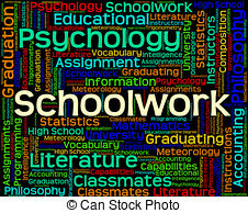 Philosophy clipart school work Schoolwork  objects Word Clipart