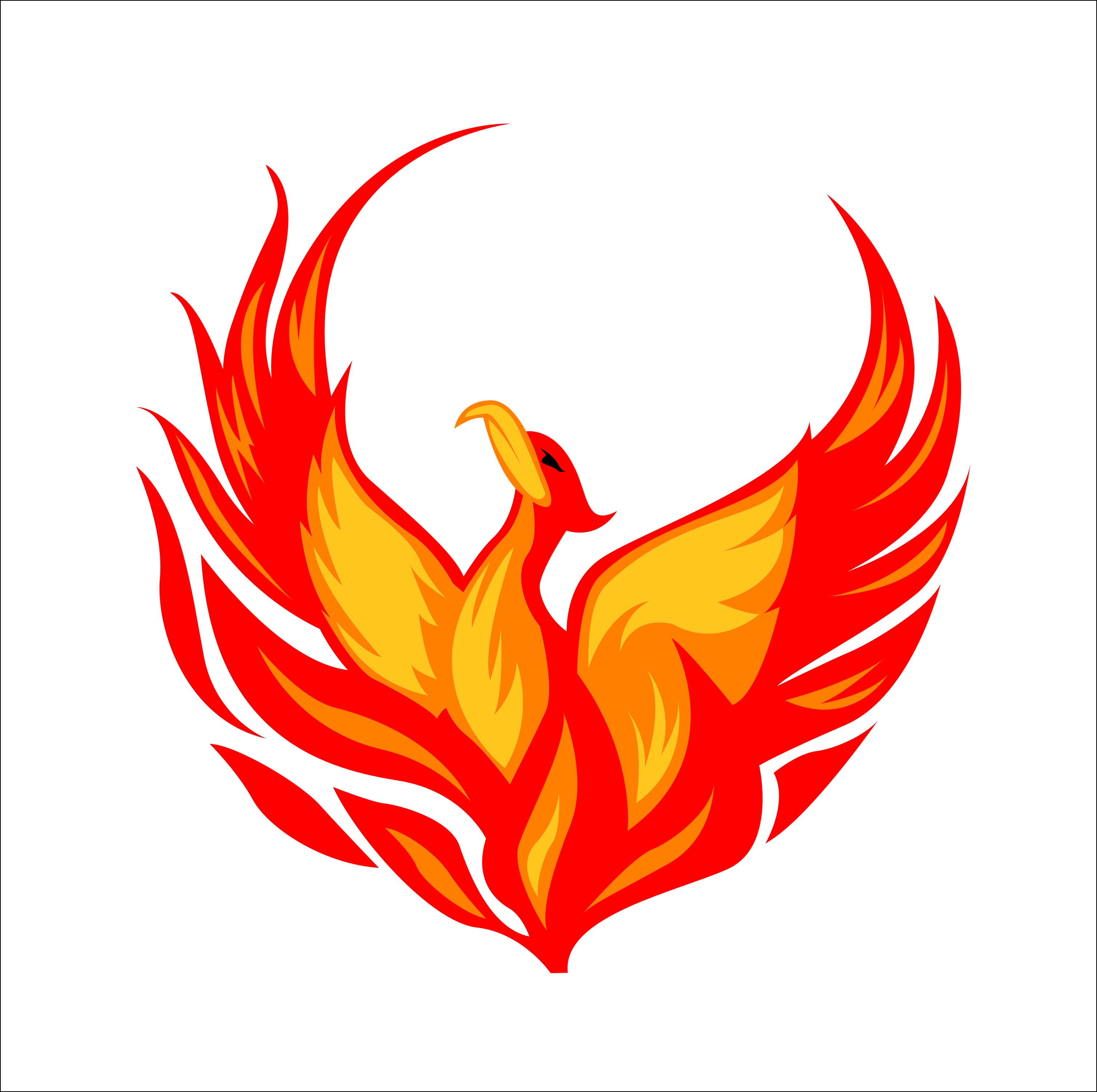 Phoenix clipart On Phoenix Asia Art Clipart
