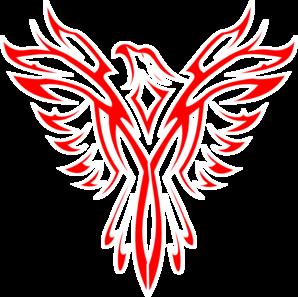 Phoenix clipart Phoenix Red clip art vector