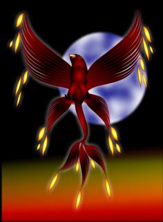 Phoenix clipart ash clipart Image:  Phoenix Mythology in