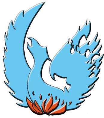 Phoenix clipart blue Phoenix Clipart Clip on Clip