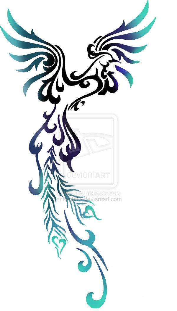 Phoenix clipart blue Result for  Bird com/large