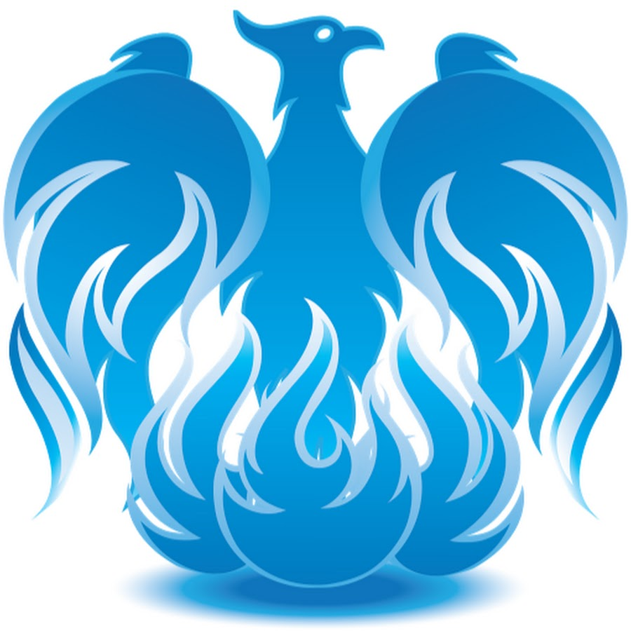 Fenix clipart blue Phoenix  YouTube Blue