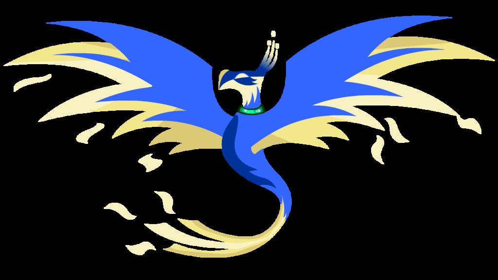 Phoenix clipart blue File Phoenix PNGMart Transparent com