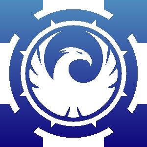 Phoenix clipart blue Clker com vector Symbol Sign