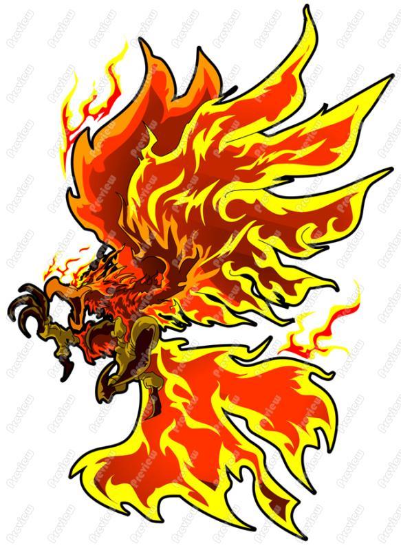Phoenix clipart cartoon Cartoon Clipart Cartoon  Clip