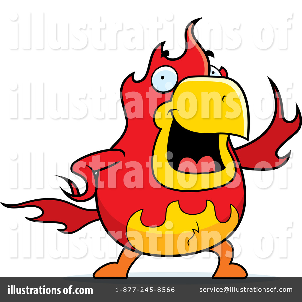 Phoenix clipart cartoon Free Clipart Illustration by Phoenix