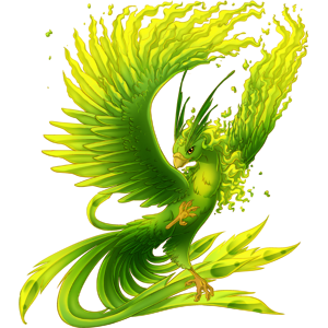 Phoenix clipart green Vale  png phoenix png
