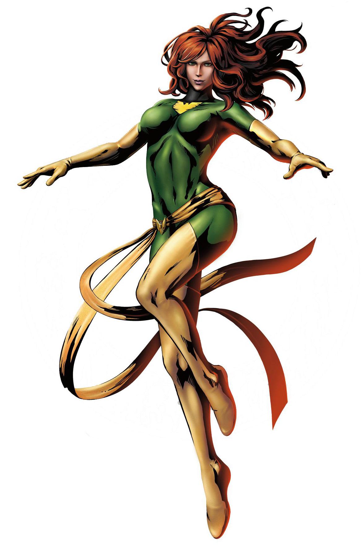 Phoenix clipart green Martian Green Wonder Manhunter Phoenix