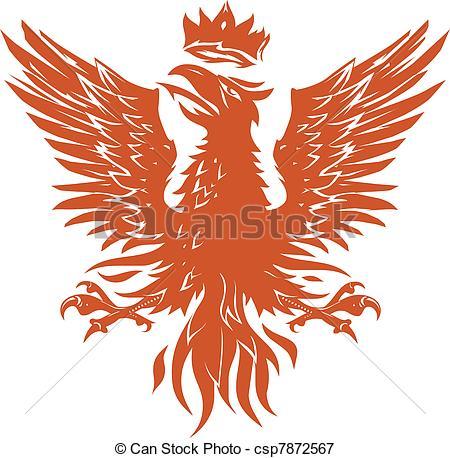 Phoenix clipart heraldry Phoenix Royalty  heraldry clip