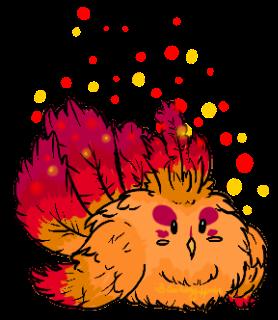 Phoenix clipart hong DeviantArt Fluffy Phoenix on by