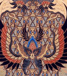 Fenix clipart motif batik Of motifs Lar Solo design