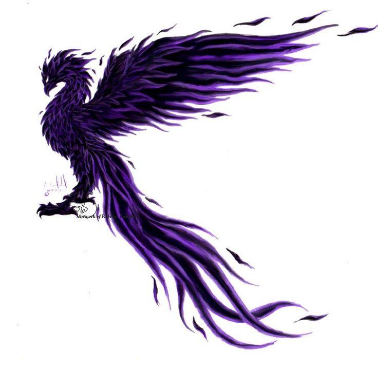 Fenix clipart purple Black 25+ bird on The